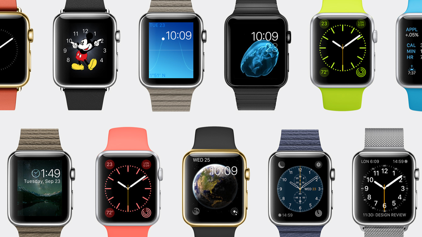 Apple Watch modèles