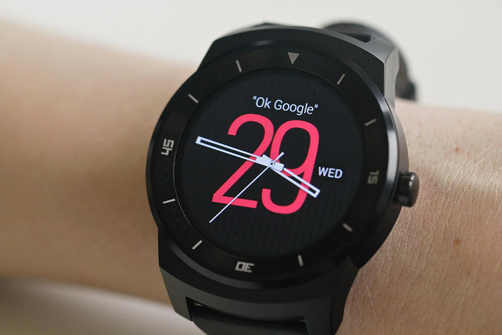 LG g-watch R montre connectée
