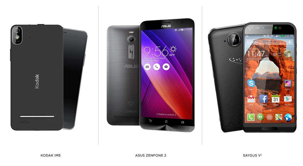 smartphones et objets connectés -ces-2015