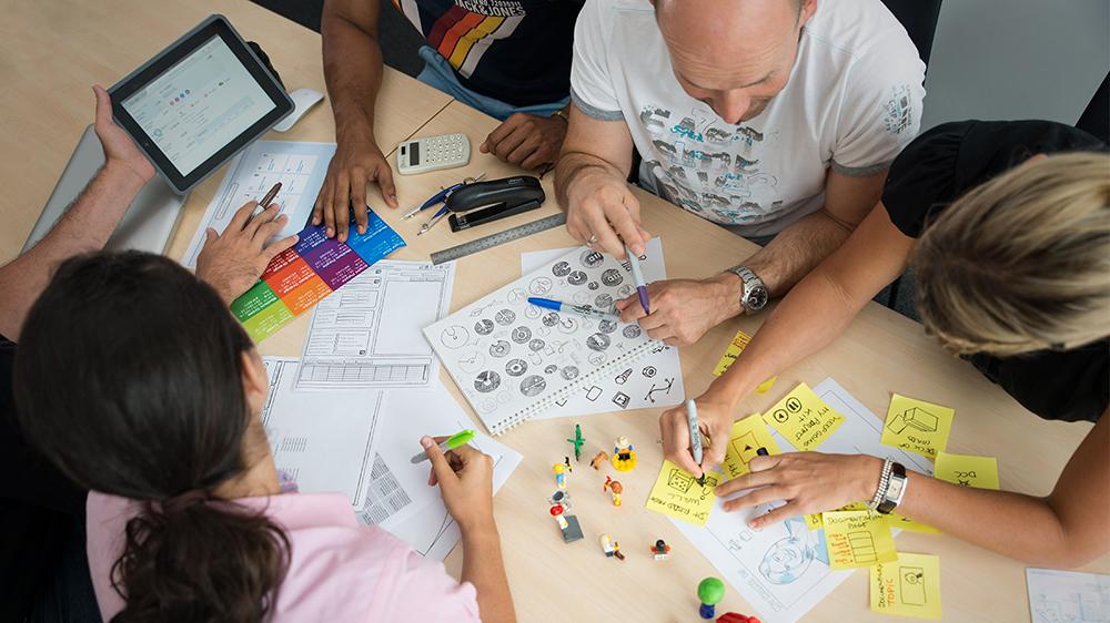 design thinking workshop création d'application